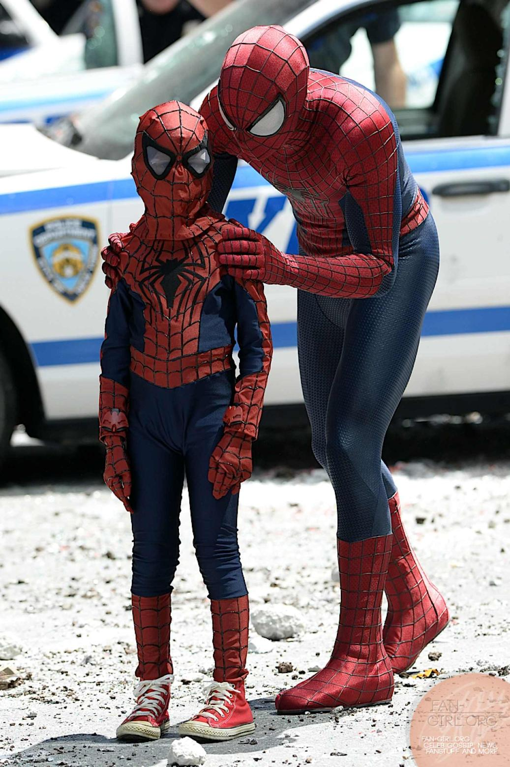 i'll teach you how to be spidey